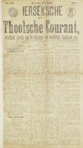 Ierseksche en Thoolsche Courant 1889-04-13