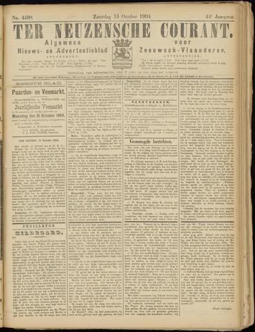Ter Neuzensche Courant. Algemeen Nieuws- en Advertentieblad voor Zeeuwsch-Vlaanderen / Neuzensche Courant ... (idem) / (Algemeen) nieuws en advertentieblad voor Zeeuwsch-Vlaanderen 1904-10-15