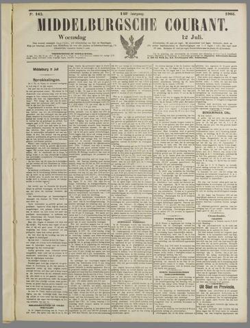 Middelburgsche Courant 1905-07-12
