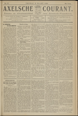 Axelsche Courant 1925-03-13