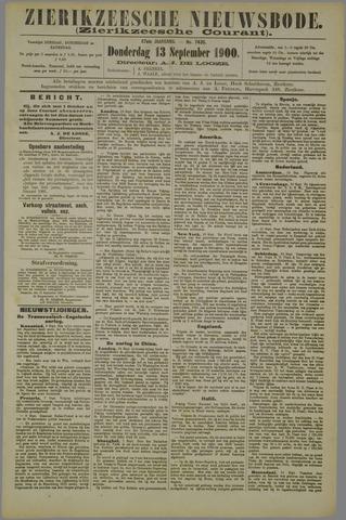 Zierikzeesche Nieuwsbode 1900-09-13