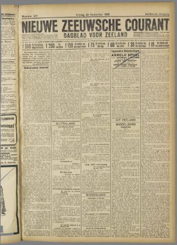 Nieuwe Zeeuwsche Courant 1922-09-29