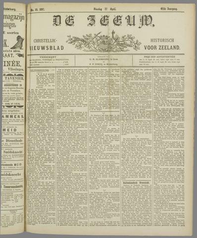 De Zeeuw. Christelijk-historisch nieuwsblad voor Zeeland 1897-04-27