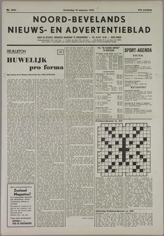 Noord-Bevelands Nieuws- en advertentieblad 1983-08-18