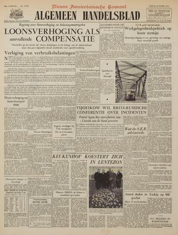 Watersnood documentatie 1953 - kranten 1953-03-20