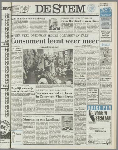 de Stem 1985-04-25