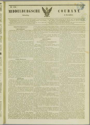 Middelburgsche Courant 1847-11-06