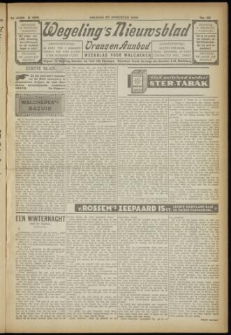 Zeeuwsch Nieuwsblad/Wegeling's Nieuwsblad 1929-08-30