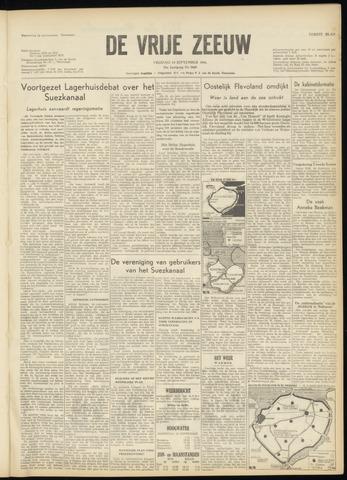 de Vrije Zeeuw 1956-09-14