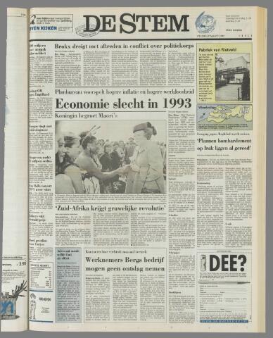 de Stem 1992-03-20
