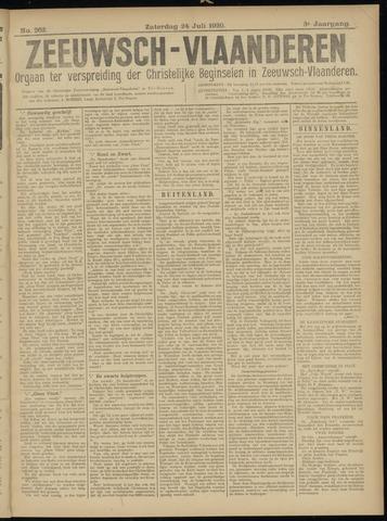 Luctor et Emergo. Antirevolutionair nieuws- en advertentieblad voor Zeeland / Zeeuwsch-Vlaanderen. Orgaan ter verspreiding van de christelijke beginselen in Zeeuwsch-Vlaanderen 1920-07-24