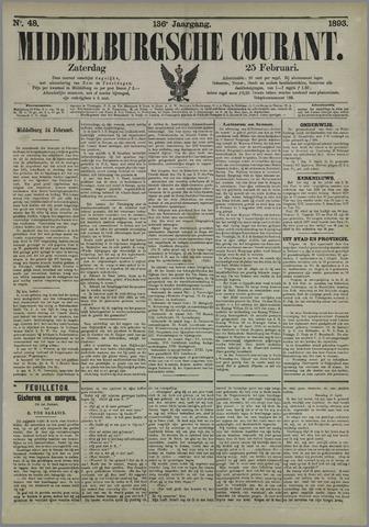 Middelburgsche Courant 1893-02-25