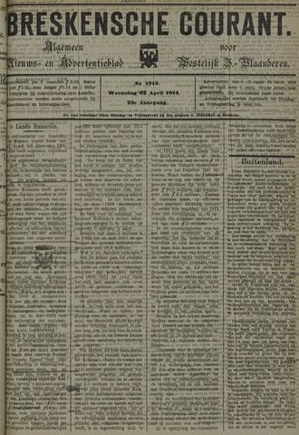 Breskensche Courant 1914-04-22