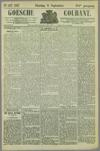 Goessche Courant 1917-09-11