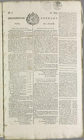 Zierikzeesche Courant 1823