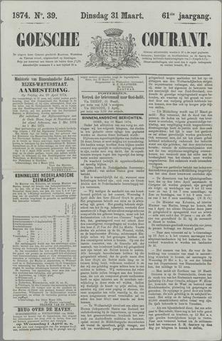 Goessche Courant 1874-03-31