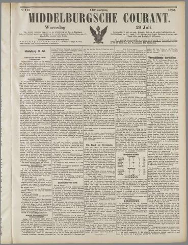 Middelburgsche Courant 1903-07-29