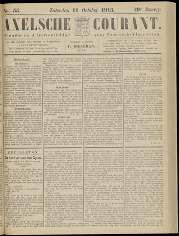 Axelsche Courant 1913-10-11