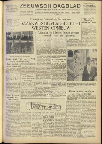 Zeeuwsch Dagblad 1954-10-23