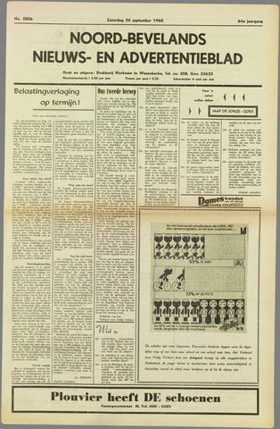 Noord-Bevelands Nieuws- en advertentieblad 1960-09-24