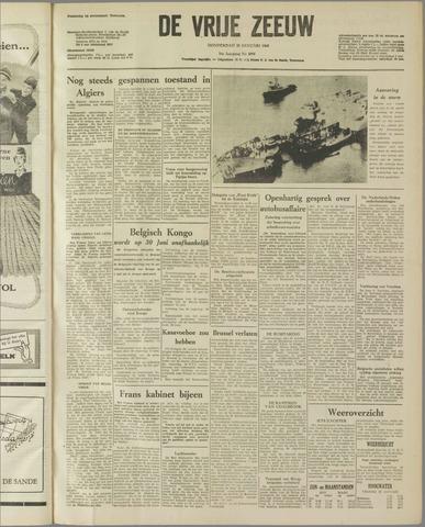 de Vrije Zeeuw 1960-01-28
