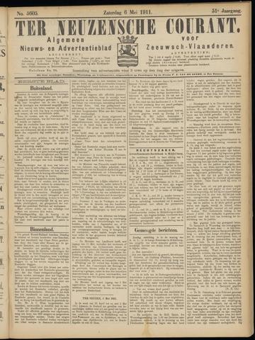 Ter Neuzensche Courant. Algemeen Nieuws- en Advertentieblad voor Zeeuwsch-Vlaanderen / Neuzensche Courant ... (idem) / (Algemeen) nieuws en advertentieblad voor Zeeuwsch-Vlaanderen 1911-05-06