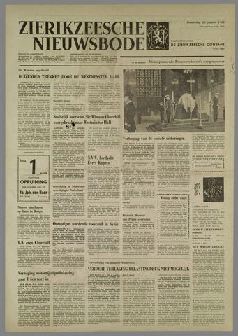 Zierikzeesche Nieuwsbode 1965-01-28