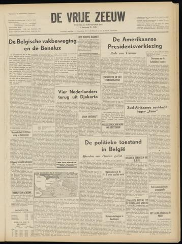 de Vrije Zeeuw 1952-09-03