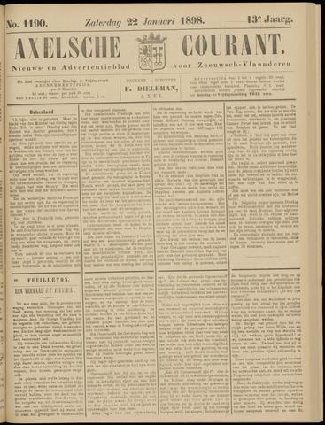 Axelsche Courant 1898-01-22
