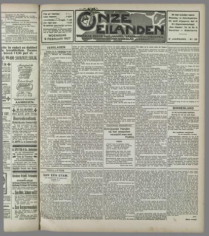 Onze Eilanden 1927-02-09