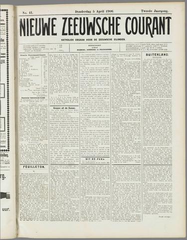 Nieuwe Zeeuwsche Courant 1906-04-05