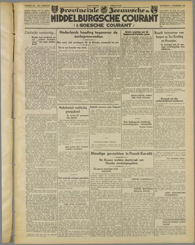 Middelburgsche Courant 1939-12-07