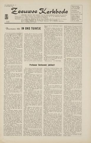 Zeeuwsche kerkbode, weekblad gewijd aan de belangen der gereformeerde kerken/ Zeeuwsch kerkblad 1965-10-08