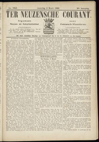Ter Neuzensche Courant. Algemeen Nieuws- en Advertentieblad voor Zeeuwsch-Vlaanderen / Neuzensche Courant ... (idem) / (Algemeen) nieuws en advertentieblad voor Zeeuwsch-Vlaanderen 1880-03-06