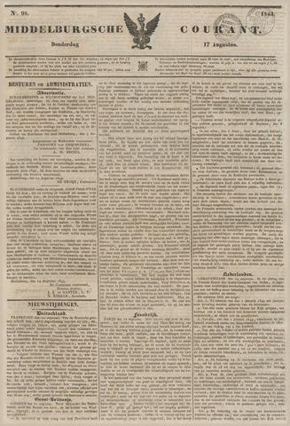 Middelburgsche Courant 1843-08-17