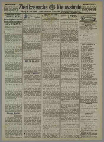 Zierikzeesche Nieuwsbode 1932-01-08