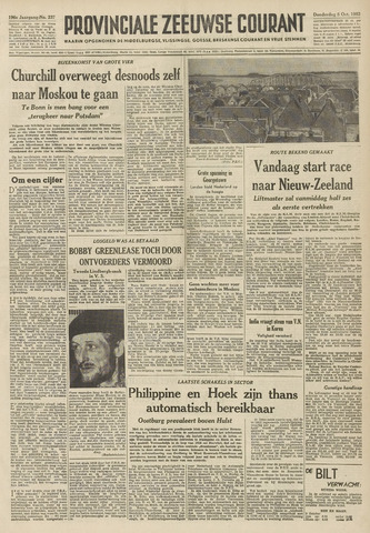 Provinciale Zeeuwse Courant 1953-10-08