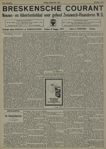 Breskensche Courant 1937-10-29