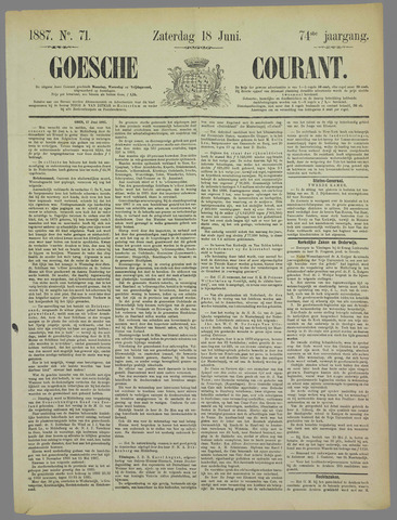 Goessche Courant 1887-06-18