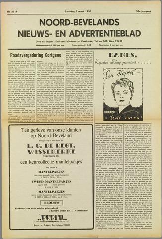 Noord-Bevelands Nieuws- en advertentieblad 1955-03-05