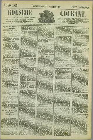 Goessche Courant 1917-07-02