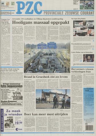 Provinciale Zeeuwse Courant 2000-02-21