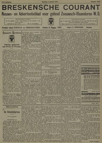 Breskensche Courant 1938-01-11