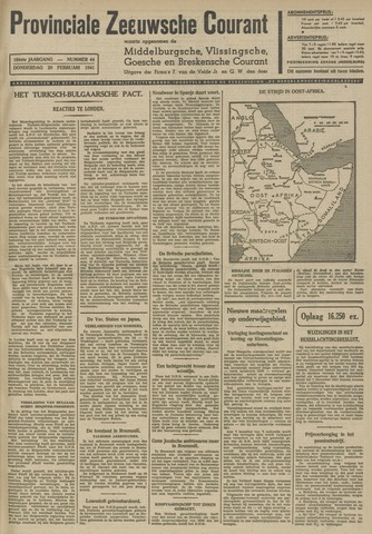 Provinciale Zeeuwse Courant 1941-02-20