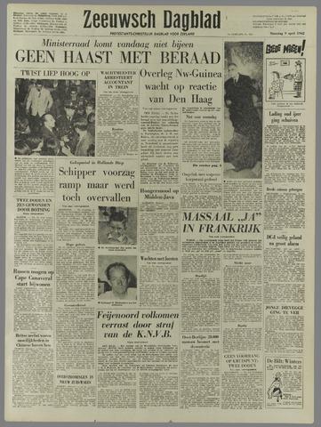 Zeeuwsch Dagblad 1962-04-09