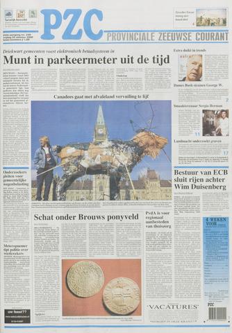 Provinciale Zeeuwse Courant 2000-10-20