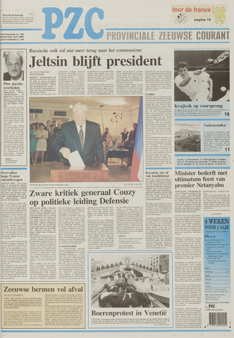 Provinciale Zeeuwse Courant 1996-07-04