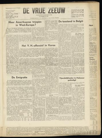 de Vrije Zeeuw 1950-08-09