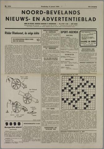 Noord-Bevelands Nieuws- en advertentieblad 1985-01-10