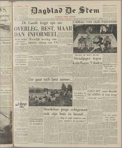 de Stem 1961-08-30